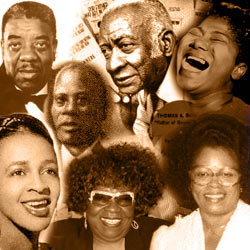 the history of the african american music History detectives  home about  the most important influence on 20th century music african americans and the musical culture they brought to this country – developed within the bonds of .